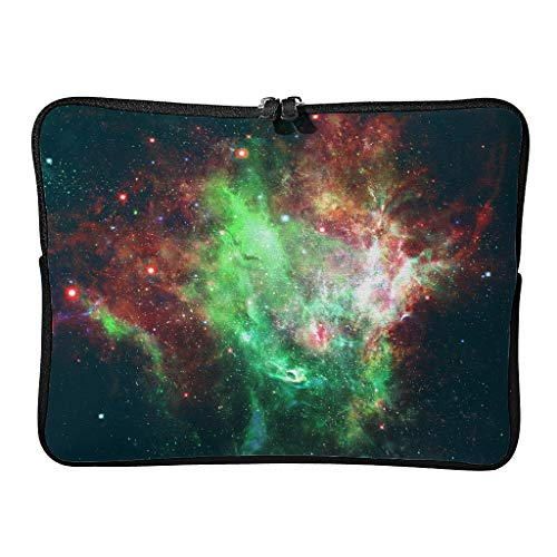5 Sizes Laptop Bags Pattern Waterproof - Space Tablet Sleeves Suitable for Commuter white7 12inch