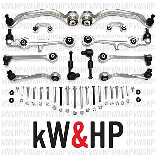Kit bracci oscillanti anteriori A4 (8E) 01->04 (12 PEZZI) (KW13001)