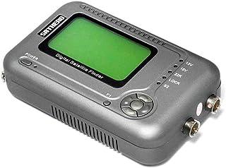 Festnight SATHERO SH-200HD Global Universal TV Signal Finder Meter DVB-S/S2 HD Digital Meter MPEG-4 22KHz 13V/18V with 2.5-Inch LCD Display 2000mAh Battery US Plug