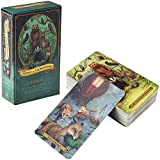 Forest of Enchantment Tarot:78Pcs Tarot Card Desk Oracle Cards Board Games English for Family Party Playing Card Game Table Game