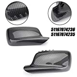 Topteng 1Pair Mirror Cover Cap for BMW E46...