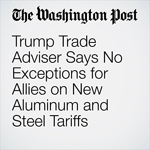 Trump Trade Adviser Says No Exceptions for Allies on New Aluminum and Steel Tariffs copertina