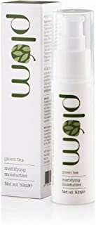 Plum Green Tea Mattifying Moisturizer, 50ml | For Oily & Acne Prone Skin | Vegan Skin Care