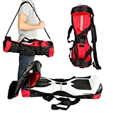 Swagtron Carrying Bag – Fits T1, T5 Swagtrons – The Bag For All Your Swag – Red