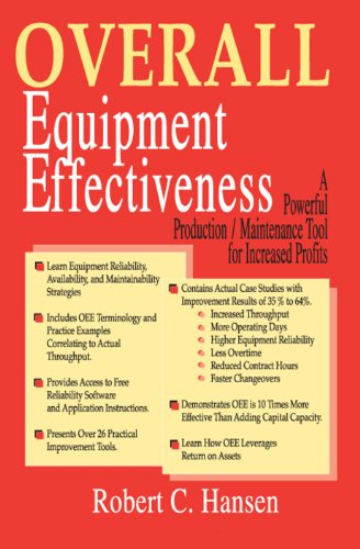 Overall Equipment Effectiveness: A Powerful Production/maintenance Tool for Increased Profits (English Edition)