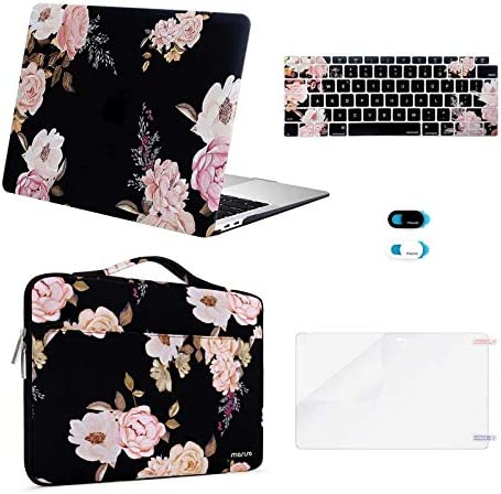 MOSISO MacBook Air 13 inch Case 2020 2019 2018 Release A2337 M1 A2179 A1932 Plastic Peony Hard product image