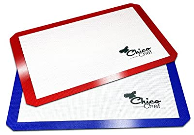 Silicone Baking Mat - Various colors and sizes - Bonus eBook Cookbook,
