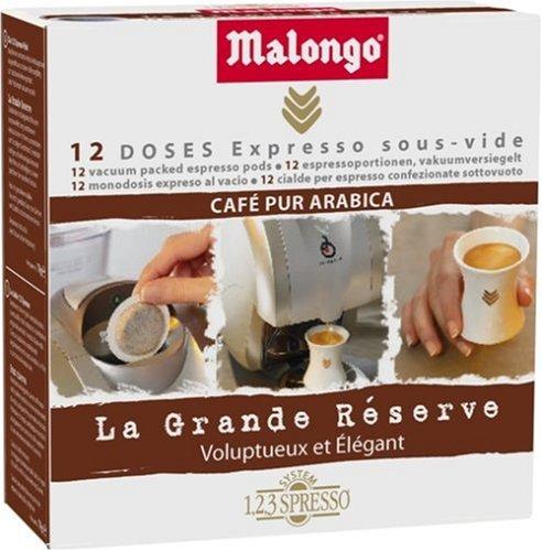 Malongo Café La Grande Réserve 12 doses