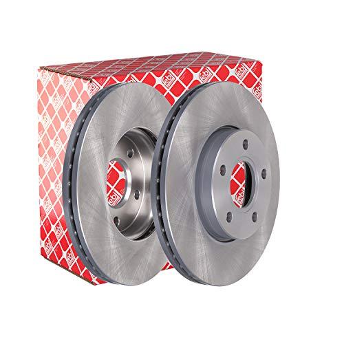 febi bilstein 24565 Brake Disc Set (2 Brake Disc) front, internally ventilated, No. of Holes 5