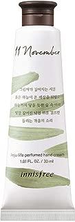 Innisfree Jeju Life Perfumed Hand Cream - November Fallen Leaves 30ml