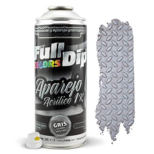 Spray Aparejo 400ml – Bricolaje, Decoración. Universal (Metal, Madera, Aluminio, Cemento, Metacrilato, Cartón, Plástico, etc.) - ELIGE COLORES (APAREJO (PRIMER))