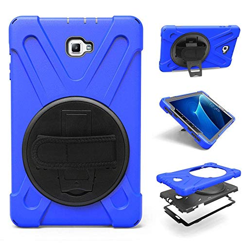 Case2go - Funda para Samsung Galaxy Tab A 10.1 2016/2018 - Resistente a los golpes - Azul