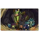 Warcraft103 – Juego de mesa de Warcraft tapete de mesa Wow juegos teclado Pad Tamaño 60 x 35 cm World of Warcraft Mousepad para Yugioh Pokemon MTG o TCG