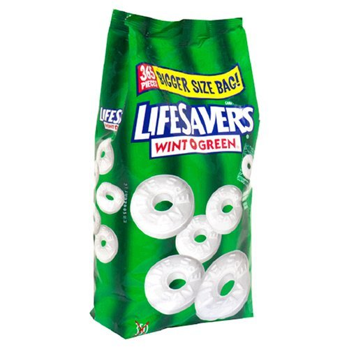 LifeSavers Hard Wint-O-Green XXL TÜTE 365 Stück (1,4kg) aus USA