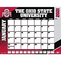 TURNER Sports オハイオ州バックアイズ 2021 22X17 デスクカレンダー (21998061494)