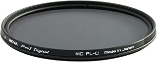 Hoya 62mm Pro-1 Digital Circular Polarizing Screw-in Filter, Black