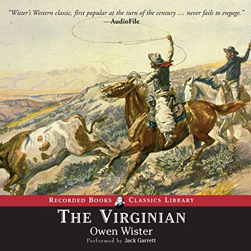 The Virginian audiobook cover art