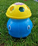 Wasserspielzeug für ganz großen Sprinkler Spaß Ihrer Kinder | Outdoor Spielzeug | Wasserspiel im Garten Spielzeug | Gartenspiele Waterplay Aqua Play | Kinderspielzeug draußen (Blau/Gelb (Wal))