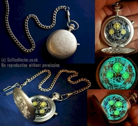 Doctor Who Taschenuhr des Masters/ Masters Replica Fob Watch
