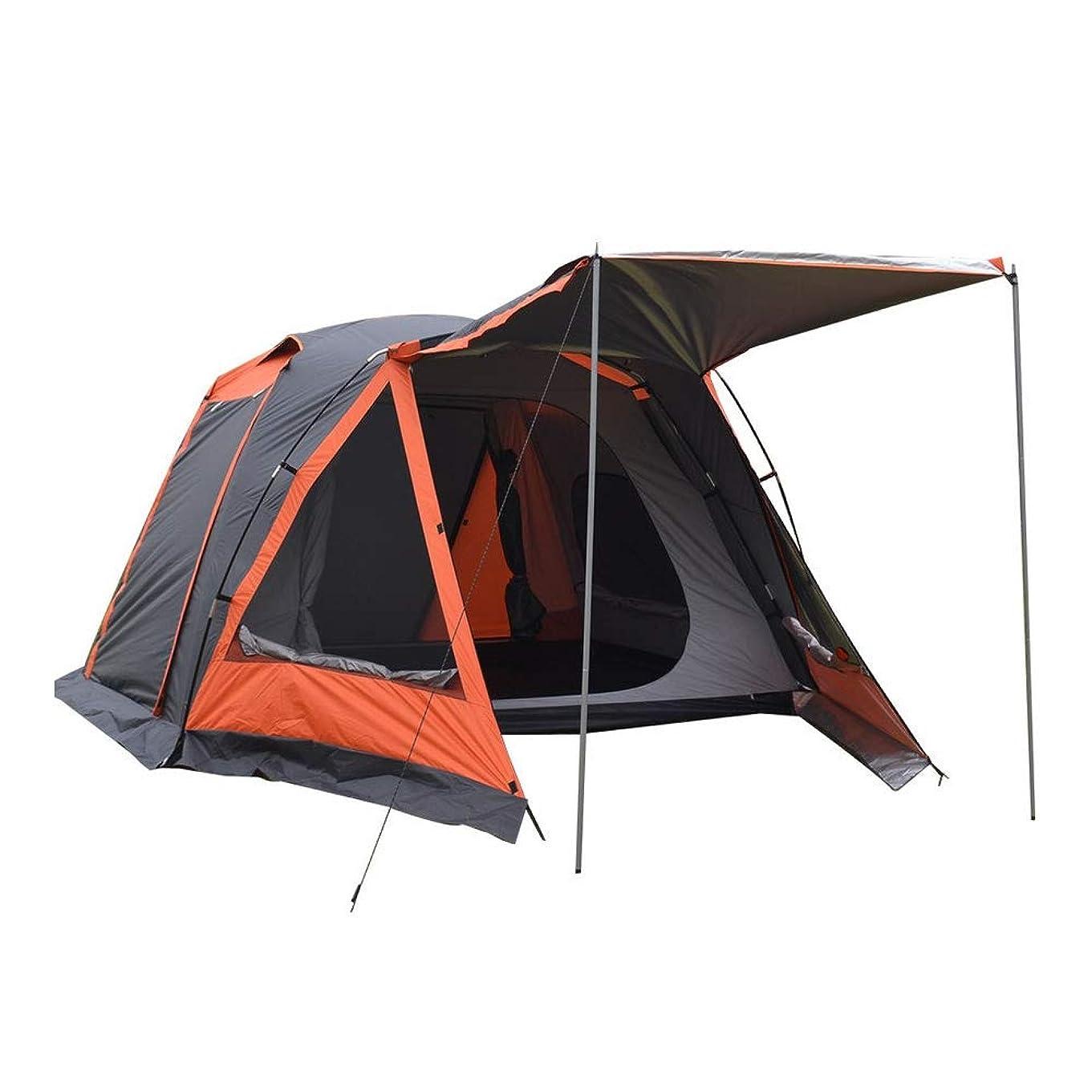 劇作家お茶仕方Hewflit オールインワンテントbigサイズ ツールームテント ツーリングテント 高さ150cm 3~4人用 キャンプ用品 テント ツールームドーム キャリーバッグ付 [並行輸入品]
