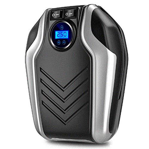 YLJYJ Inflador de neumáticos Digital, Bomba de compresor de Aire portátil, DC 12V 150PSI, inflador de neumáticos de automóvil con Apagado automático, iluminación LED, para (Piscina)