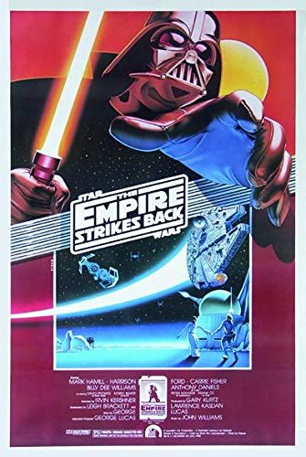 Star Wars Postkarte Empire Strikes Back (10cm x 15cm)