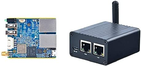 Friendly ELEC NanoPi R1 SBC Dual Network Port IoT Router Supporting Open Source Ubuntu and OpenWrt