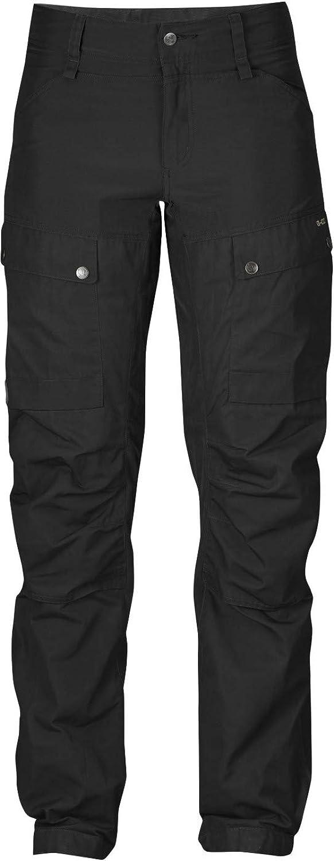 FJLLRVEN Keb Curved Trousers damen Short - schwarz schwarz