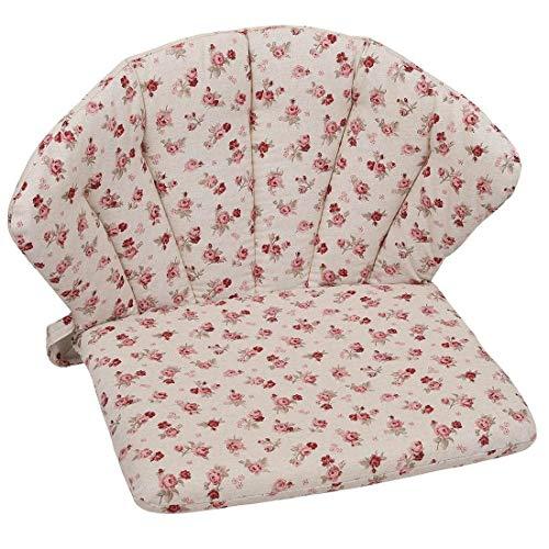 OUTLIV. Polsterauflage Elegance Royal Garden Niederlehner Auflage 75x48cm Sitz- Rückenkissen Blumen Sitzauflage für Gartensessel und Gartenstuhl