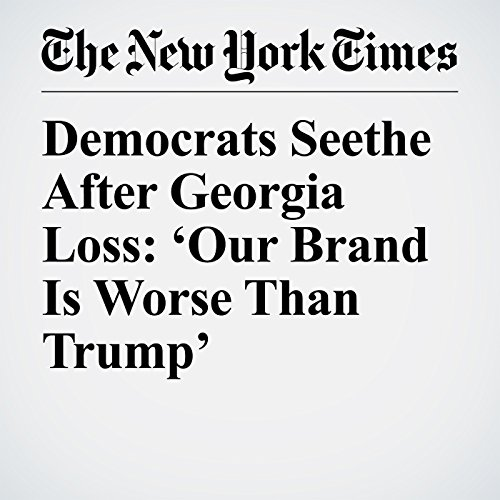 Democrats Seethe After Georgia Loss: 'Our Brand Is Worse Than Trump' copertina