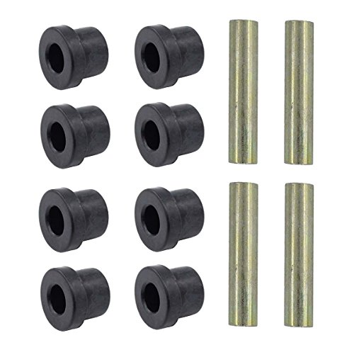 MOTOKU Set of 2 Leaf Spring Bushing Kit Front Rear for Club Car DS 1976-Up and Electric Golf carts