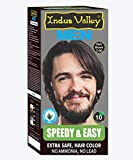 Indus Valley Speedy and Easy Hair Colour For Men Organic Hair Color (Dark Brown 3.0)