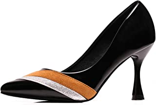 High Heels,Women's Classic Pointed Closed Toe Pumps Office Lady High Heel Wedding Party Basic Shoes