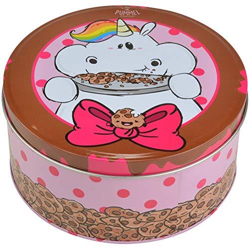Pummel & Friends - Keksdose (braun) - Pummeleinhorn (Kekse essen)