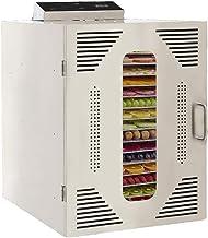 Máquina de conservación de alimentos para el hogar Deshidratador de alimentos, silenciador de temperatura ajustable de la pantalla eléctrica digital digital con 16 capas 304 Bandeja de acero inoxidabl
