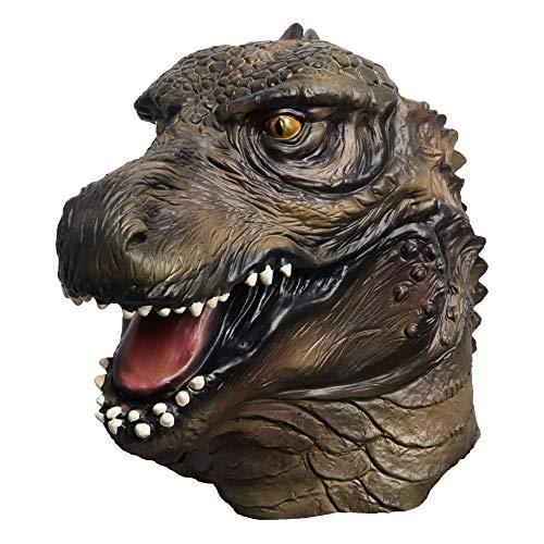 MASCARELLO Latex Voller Kopf Tier Berühmte Film Godzilla Riesen Monster Phantasie Party Masken Drachen Halloween Kostüm Cosplay