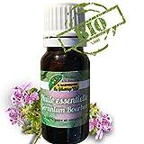 Huile essentielle de géranium rosat bourbon BIO distillée à l'île de La Réunion. 10 ml. Aromathérapie. Soin de la peau, rasoir, anti-inflammatoire, moustique. En alimentaire. Bien-être 100% Naturel.