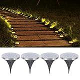 Luces de jardín Luz LED automática resistente a la oxidación de 4 piezas para decorar el jardín para decorar el patio