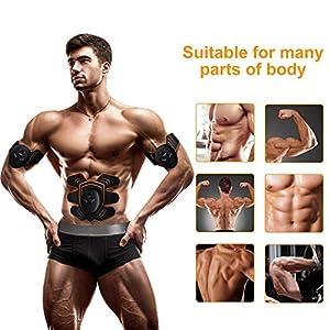 COSBITY ABS Stimulator,Ab Machine,Abdominal Toning Belt Workout Portable Ab Stimulator Home Office Fitness Workout Equipment for Abdomen/Arm/Leg
