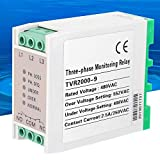 3-Phase Monitoring Relay, Circuit Protection Voltage Monitoring Relay Overvoltage Undervol...