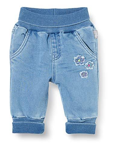 SIGIKID Baby - Mädchen und Jungen Denim Jeans mit elastischem Stoffbund, Größe 062 - 098