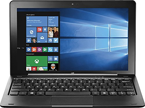 Insignia Flex 2in1 Touchscreen Tablet/Laptop (NS-P11W7100) Black - 32GB, Tablet Only, 11.6in (Renewed)