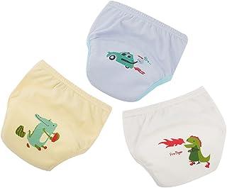 LIUONEXI 3er Set Kleinkind M/ächen Jungen Unterw/äsche Unterhosen Kleinkind H/öschen Pumphose Windel Decken niedlich Kaninchen