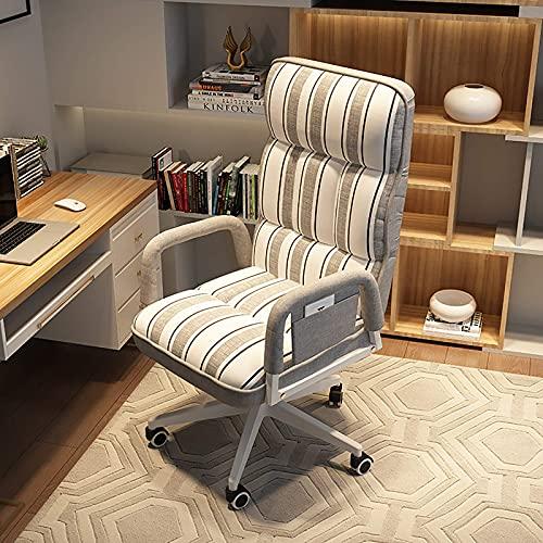 Renovation House Home Computerstuhl Ergonomischer Drehstuhl mit hoher Rückenlehne Gepolsterter Schreibtischstuhl mit Armlehne Verstellbarer Hebe-Bürostuhl Liege für Erwachsene Schwere Menschen Grün