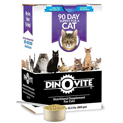 Top 10 best selling list for dinovite supplement for cats
