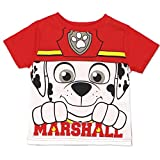 Paw Patrol Marshall Chase Toddler Boys and Girls Tee Shirt (5T, Marshall SS)