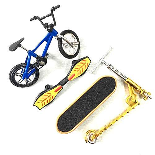 Iwinna Mini Scooter Two Wheel Scooter Children's Educational Toys Finger Scooter Bike Fingerboard Skateboard - 1 Set