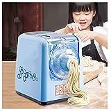 Macchina Per Pasta Elettrica,Acciaio Inossidabile Preparazione Rapida Di Noodle In 3 Fasi Tagliatelle Fatte A Mano Con 9 Tipi Di Stampo Per Noodle