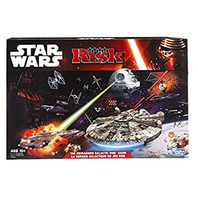 Hasbro - B23561010 - Jeu De Réflexion - Risk Star Wars Premium