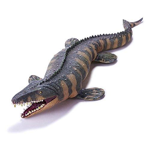 """RECUR Spielzeug Mosasaurus Dinosaurier Figuren Jurassic, Geschichte wiederherstellen echtes Gefühl Realistisches Mosasaurier Geschenk für Kinder Kleinkind Kinder Jungen Pädagogisches Dino Spiel 17,8"""""""